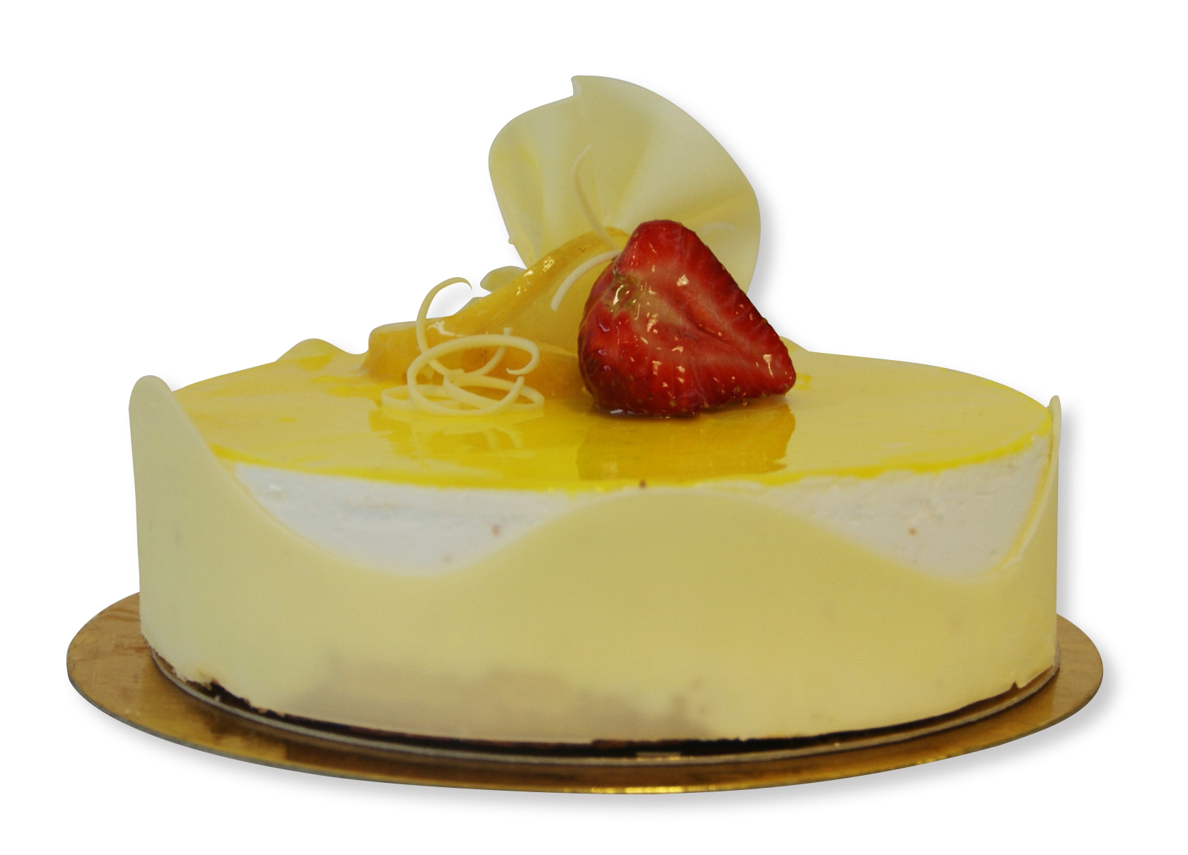 Semifrío de yogurt y limón