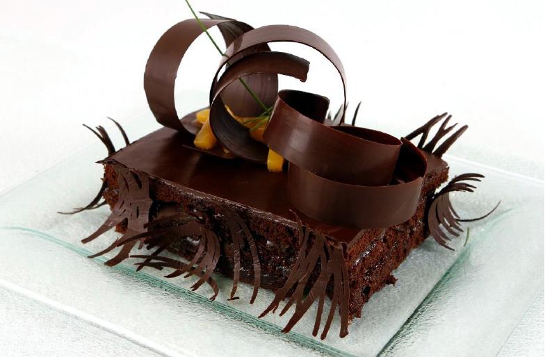 Cake de chocolate y menta